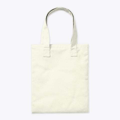 Bunny Mom Natural Tote Bag Back