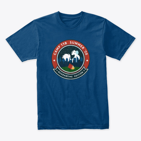 Camp To B 2020 Cool Blue T-Shirt Front