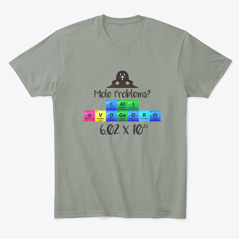 Mole Problems Call Avogadro Gift Products Teespring