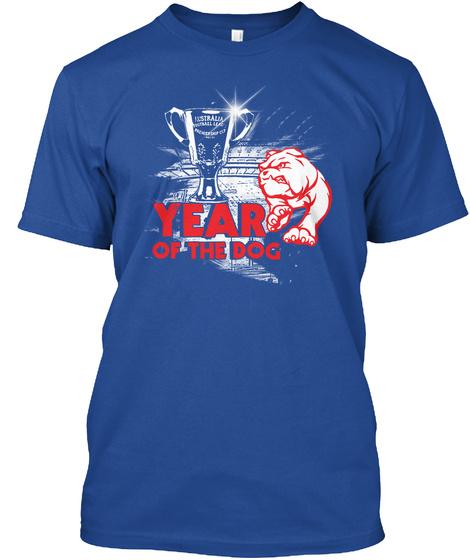 Year Of The Dog Deep Royal T-Shirt Front