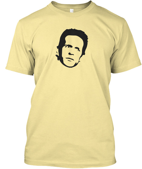 The Golden God Banana Cream T-Shirt Front