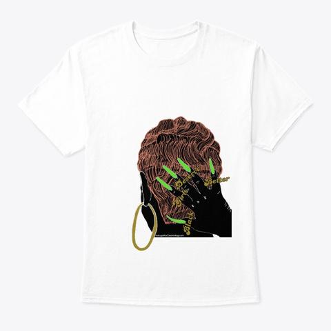 Black Girls Deserve Better White T-Shirt Front