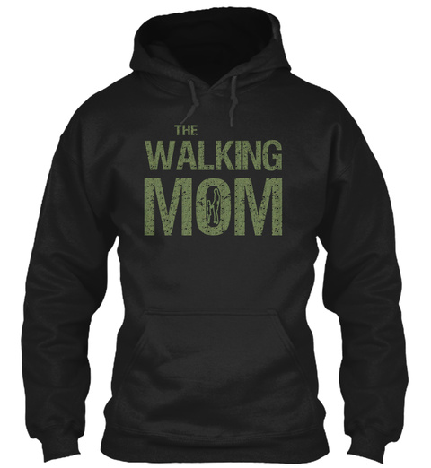 Mother's Day 2017 Hoodies And Sweatshirt Black T-Shirt Front
