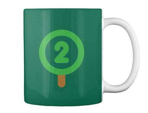 Oxygen Mug [Int] #Sfsf Forest Green Mug Back