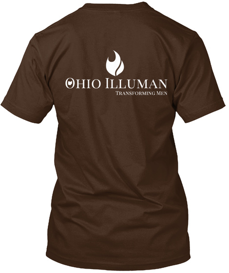 Support The Ohio Chapter Of Illuman Dark Chocolate T-Shirt Back