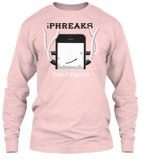 Support The I Phreaks Show Light Pink T-Shirt Front