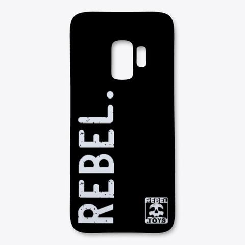 Rebel.Toys Samsung Case Black T-Shirt Front