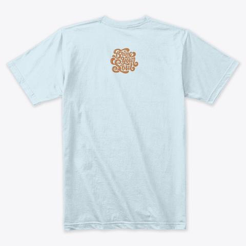 Memphis  Light Blue T-Shirt Back