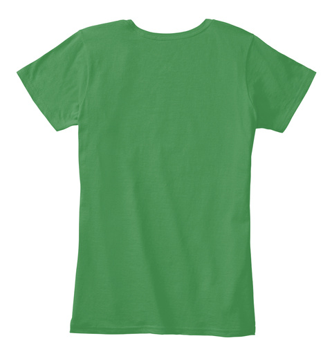 Saint Patricks T Shirt  Kelly Green  T-Shirt Back