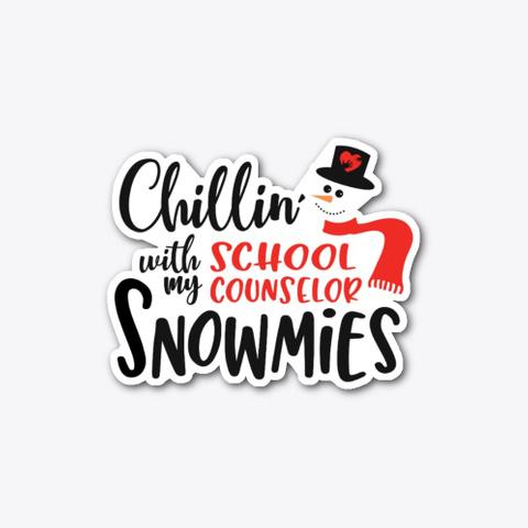 Christmas School Counselor, Chillin Standard T-Shirt Front