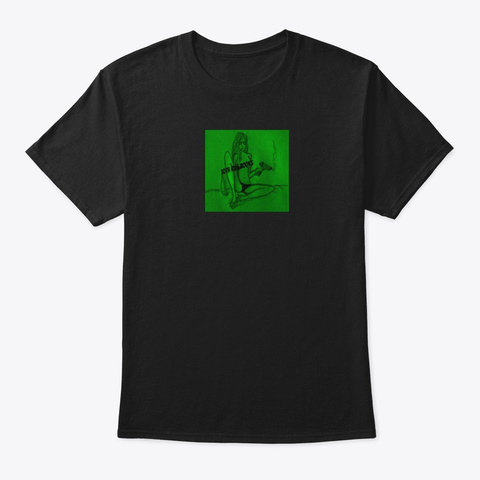 10th Rule Logo   Green Black T-Shirt Front