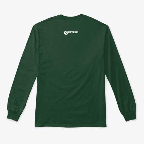 Pov Pool: Upgrade Your Sweat Forest Green T-Shirt Back