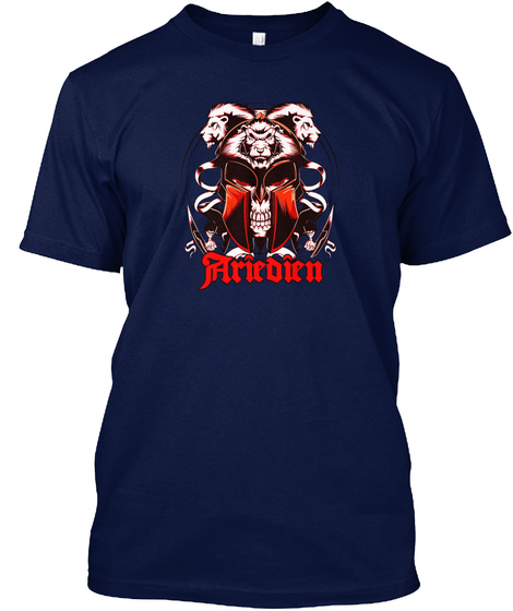 Ariedien Gear Navy T-Shirt Front