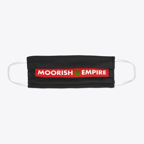 Moorish Empire Black T-Shirt Flat
