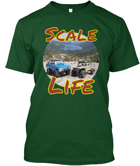 Scale Life Deep Forest T-Shirt Front