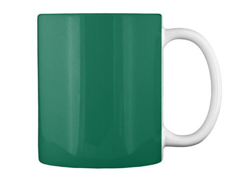 Not Just A Phase 2 Forest Green Mug Back