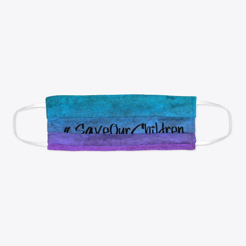 Save Our Children   Ombre Mask Standard T-Shirt Flat