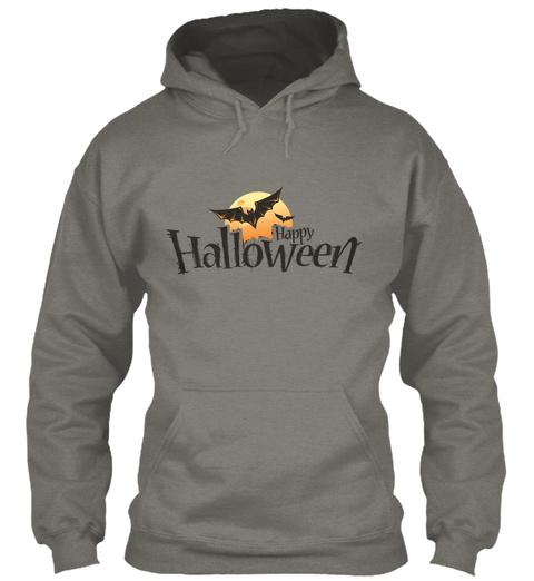 Halloween T Shirt, Mug, Sticker Charcoal T-Shirt Front