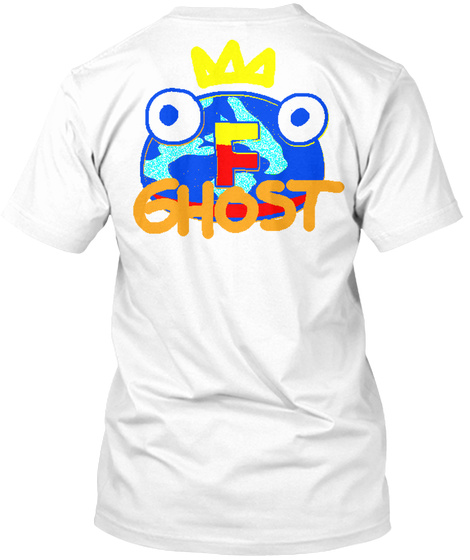 F Ghost White T-Shirt Back