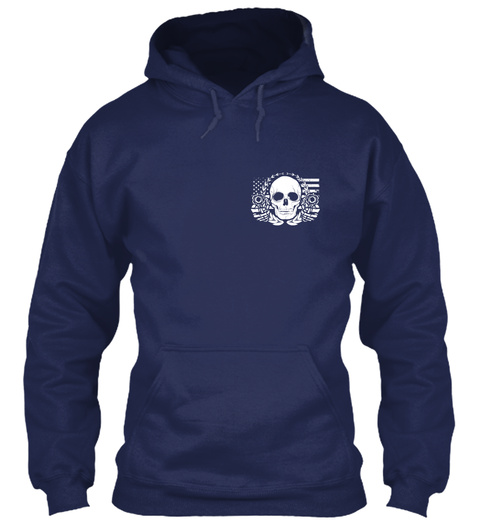 Armed Citizens Of Michigan! Navy Sweatshirt Front
