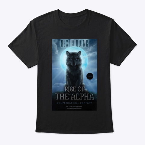 Rise Of The Alpha   Classic T Black T-Shirt Front