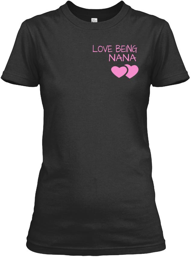 Nana-The-Moment-Tee-Children-Version-Love-Being-Gildan-Women-039-s-Tee-T-Shirt thumbnail 6