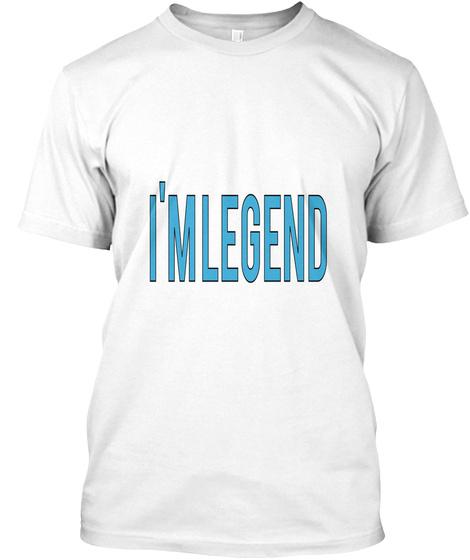 I'm Legend White T-Shirt Front