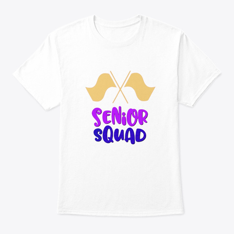 [$15+] Senior Squad - Color Guard Flag Unisex Tshirt