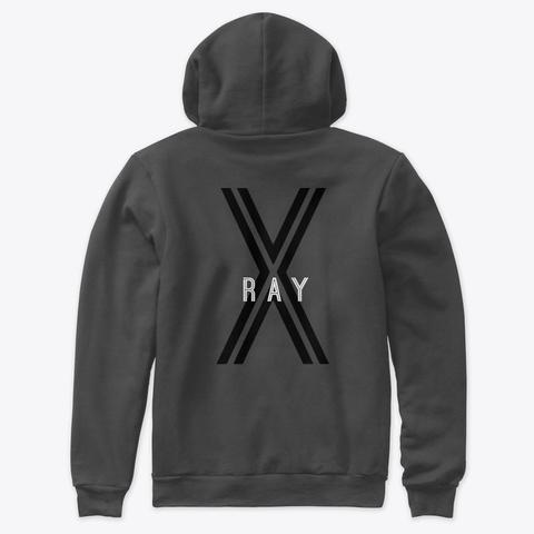 X Ray Dark Grey Heather T-Shirt Back