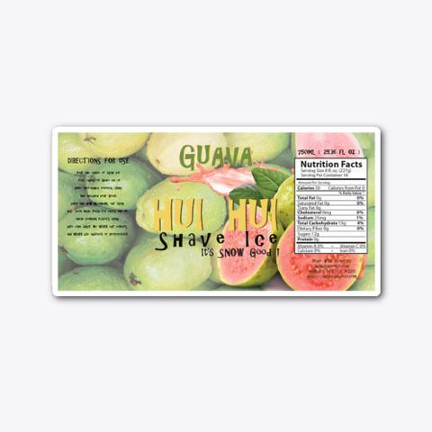 Guava Standard T-Shirt Front