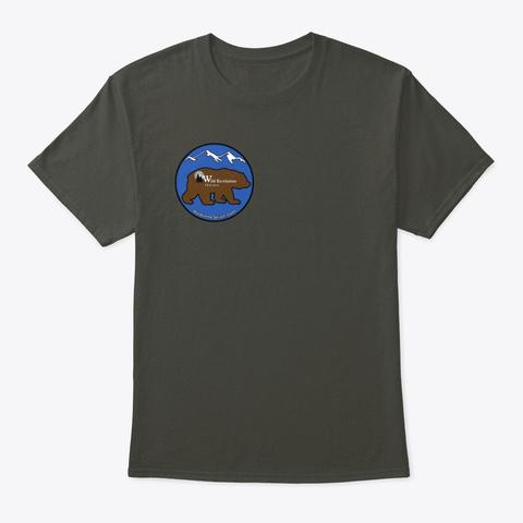 Kodiak Bear Unisex Tee Smoke Gray Maglietta Front
