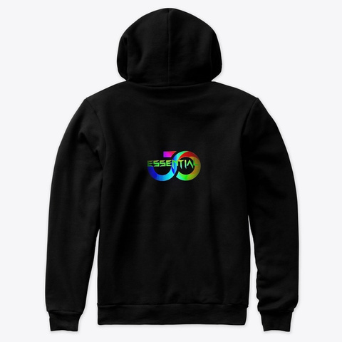 The Cosmic Community  Black T-Shirt Back