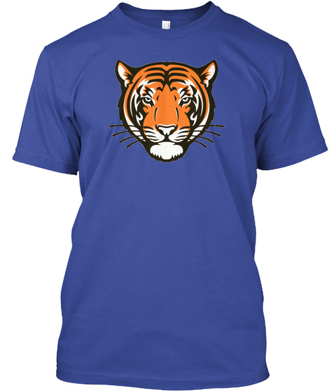 Princeton Tigers Deep Royal Maglietta Front