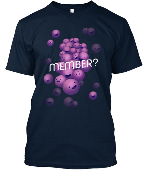 Member? New Navy T-Shirt Front