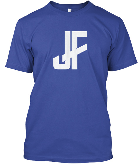 Jf Deep Royal T-Shirt Front