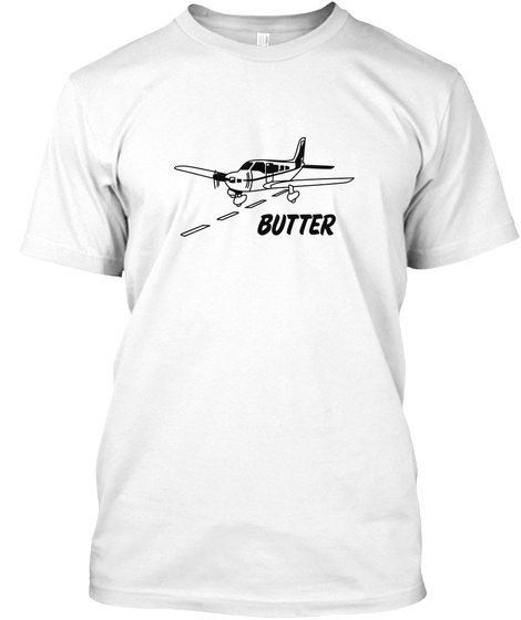 Butter White T-Shirt Front