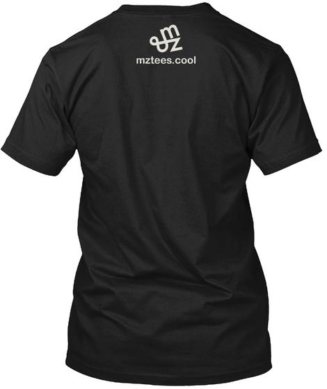 Deconstructed Us Flag Black T-Shirt Back