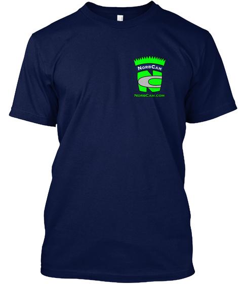 Norbcam Norbcam.Com Navy T-Shirt Front