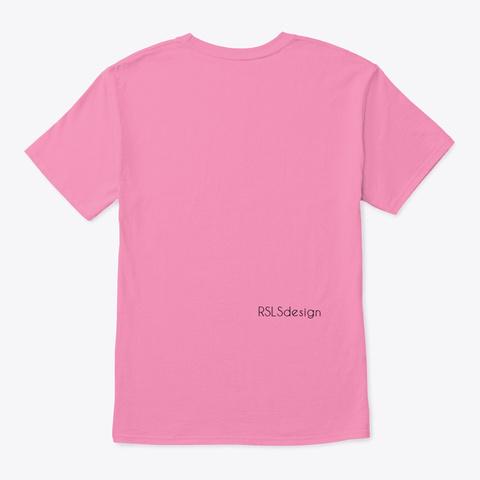 Hair Stylist, Cosmetology Tee Shirt.  Pink T-Shirt Back