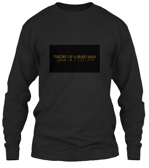Theory Of A Blind Man Black T-Shirt Front