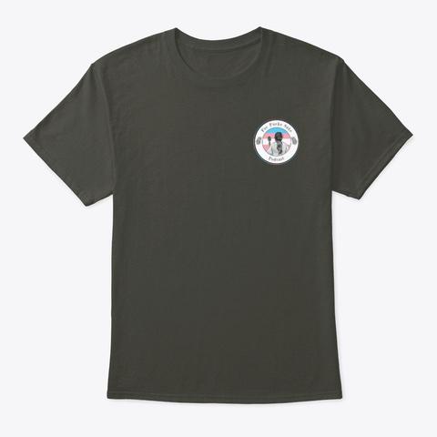 Fps   Pride   Transgender Smoke Gray T-Shirt Front