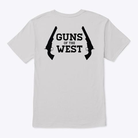 Classic T Shirt (Dustin) Light Steel T-Shirt Back