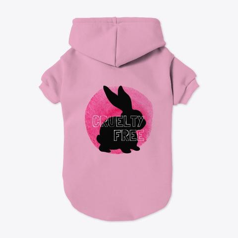 Crueilty Free Light Pink T-Shirt Back