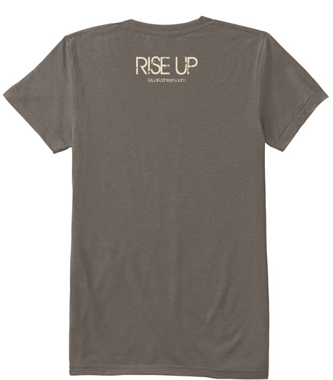 Rise Up Coffee T-Shirt Back