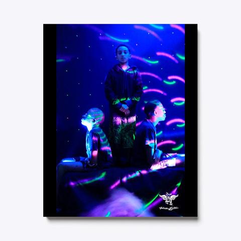 Kg Neptune Black T-Shirt Front