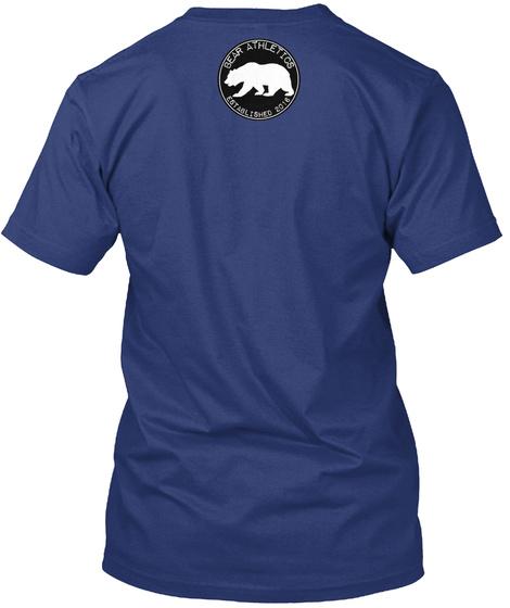 Bear Athletics Indigo T-Shirt Back