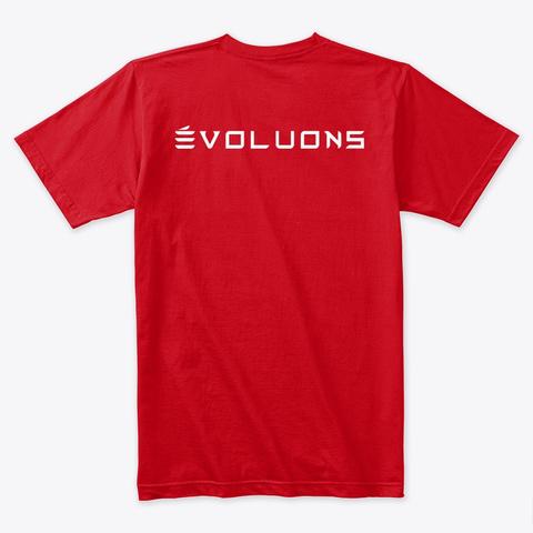 Modèle Y évoluons Par Mad Hungarian Red T-Shirt Back
