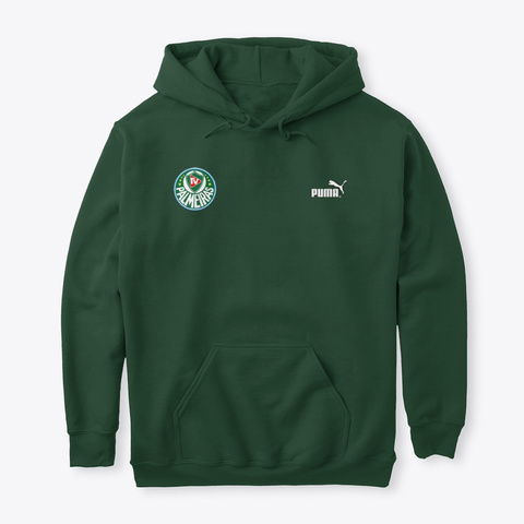 Moletom Tv Palmeiras Play Graphic Forest Green T-Shirt Front