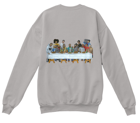 Blessings X Last Supper Light Steel  Camiseta Back