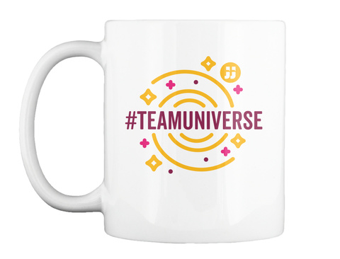Team Universe/Science! White Mug Front